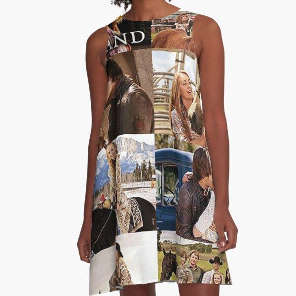 Heartland Collage A-Line Dress