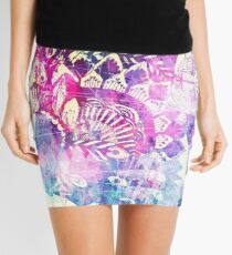 Shake a tail feather - lilac dreams Mini Skirt