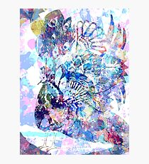 Shake a tail feather - silouette Photographic Print