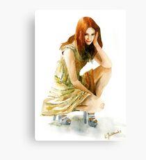 Karen Gillan Canvas Print