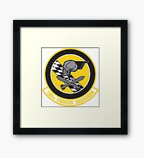 190th Fighter Squadron emblem Framed Print