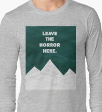 Leave The Horror Here - Foals Tshirt Long Sleeve T-Shirt