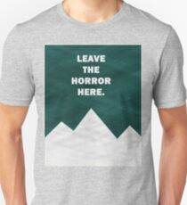 Leave The Horror Here - Foals Tshirt T-Shirt