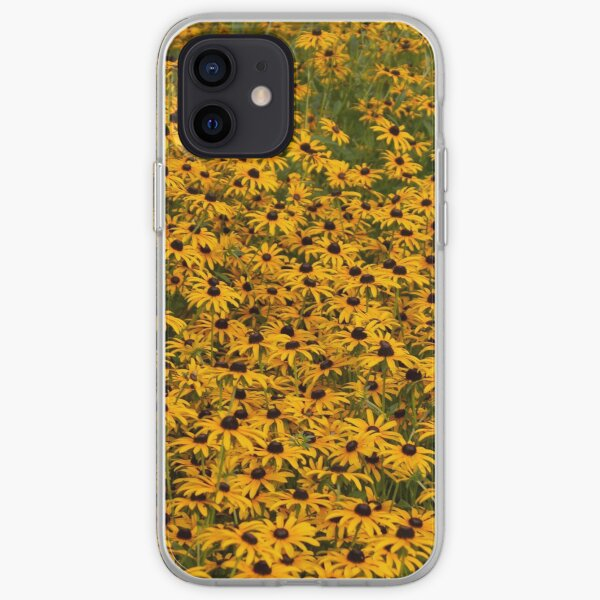 field of yellow iPhone Soft Case