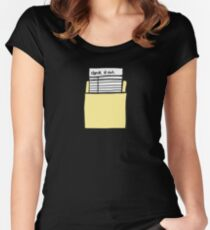 Check it Out Women's Fitted Scoop T-Shirt