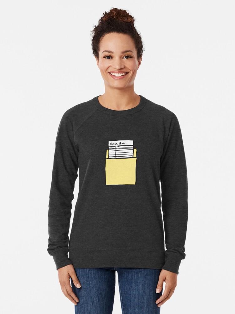Alternative Ansicht von Hör zu Leichter Pullover