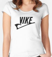 Vike! Women's Fitted Scoop T-Shirt