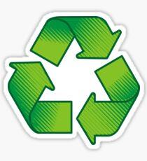Recycling symbol Sticker