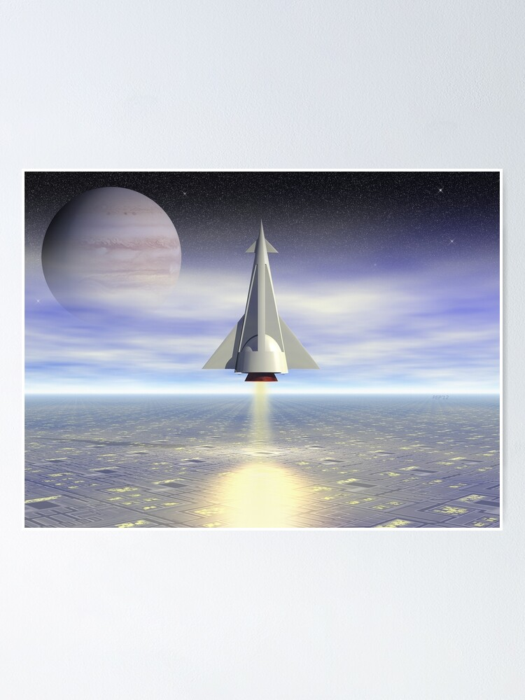 Alternate view of Rocket Launch Poster