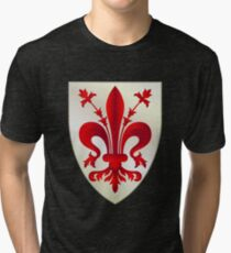 Coat of Arms of Florence Tri-blend T-Shirt
