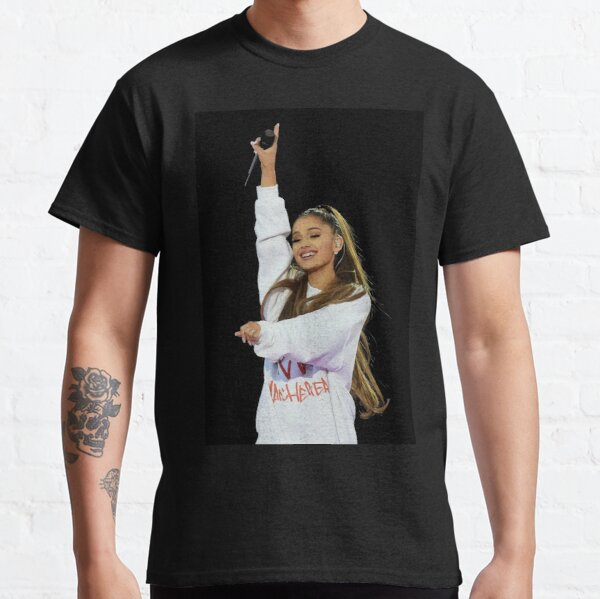 ARIANA GRANDE t shirt I love Clothing Tee T-shirt Heart Singer screen printed