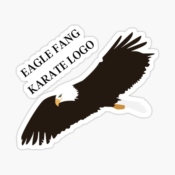 Eagle Fang Karate Logo Sticker