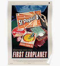 NASA Space Tourism - 51 Pegasi b Poster