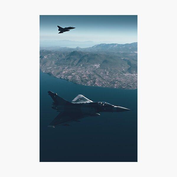 Aegean Deltas II Photographic Print