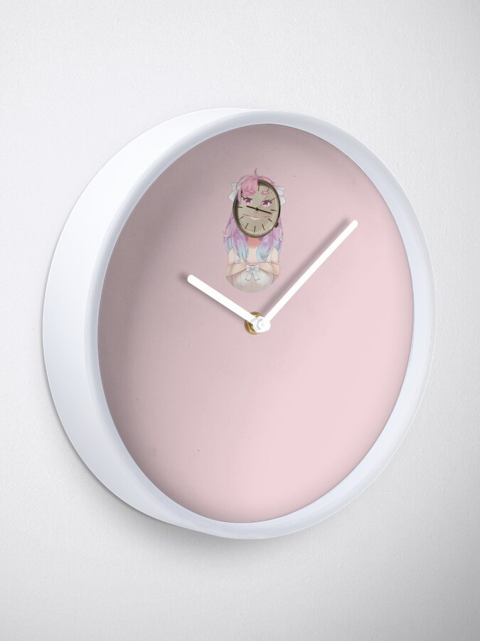 Alternate view of Pixie's Face Clock