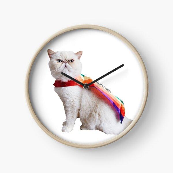 Pride cat (Exoticchubbz) Clock