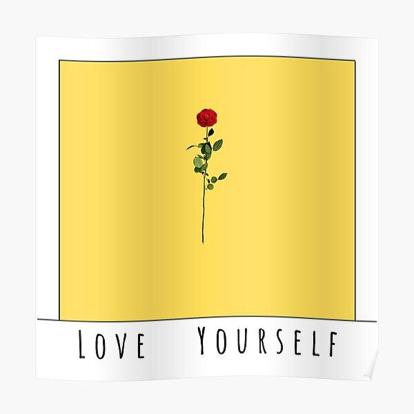loving oneself card  Poster