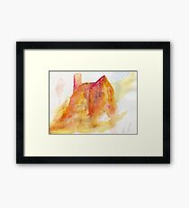 Church – Daily painting #763 Framed Print