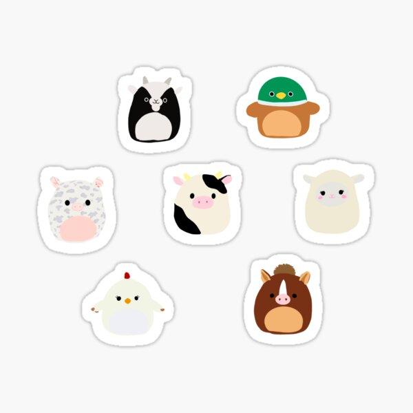 squishmallow farm animal sticker pack Sticker