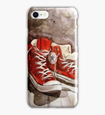 Converse sneakers iPhone Case/Skin