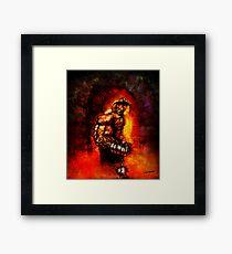 The Devil's Henchman Framed Print
