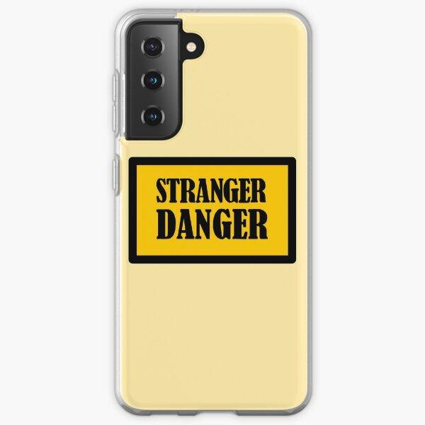 Stranger Danger Caution Sign Samsung Galaxy Soft Case