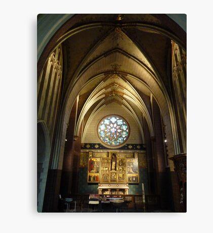 Cathedrale Notre-Dame - Antwerp Belgium Canvas Print