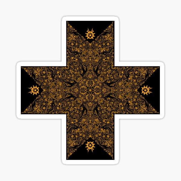 Croix doré  Sticker