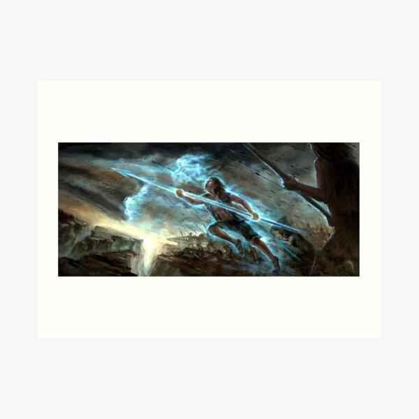 Kaladin - Archivo Stormlight Lámina artística