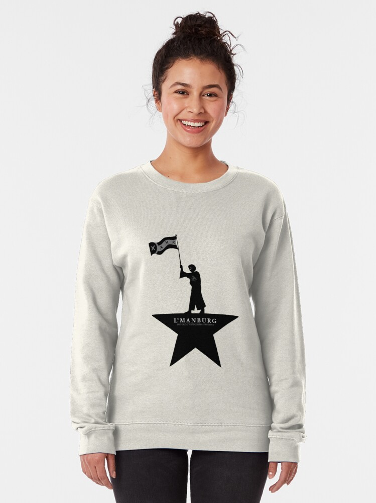 Alternate view of wilbur soot - l'manburg, you great unfinished symphony Pullover Sweatshirt