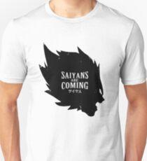 Saiyans are coming Slim Fit T-Shirt