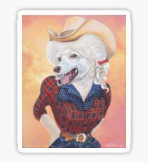 Doggy Parton (Just a Country Girl) Sticker