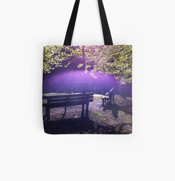 Color of the Holy Spirit All Over Print Tote Bag