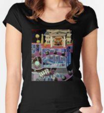 Haunted mansion inspired  Women's Fitted Scoop T-Shirt