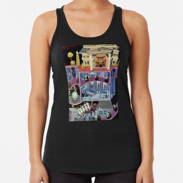Haunted mansion inspired  Racerback Tank Top