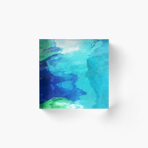 Aqua Fantasy 2 Acrylic Block