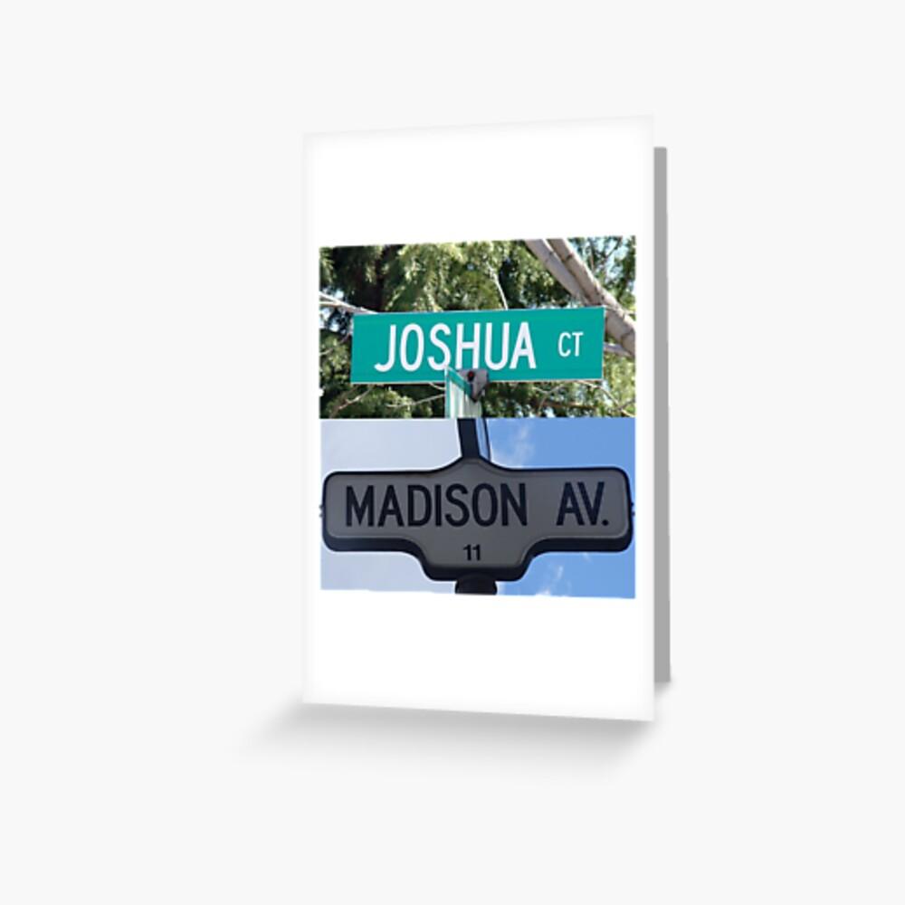 Madison and Joshua  Greeting Card