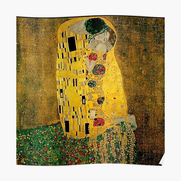 """The Kiss"" by Gustav Klimt  