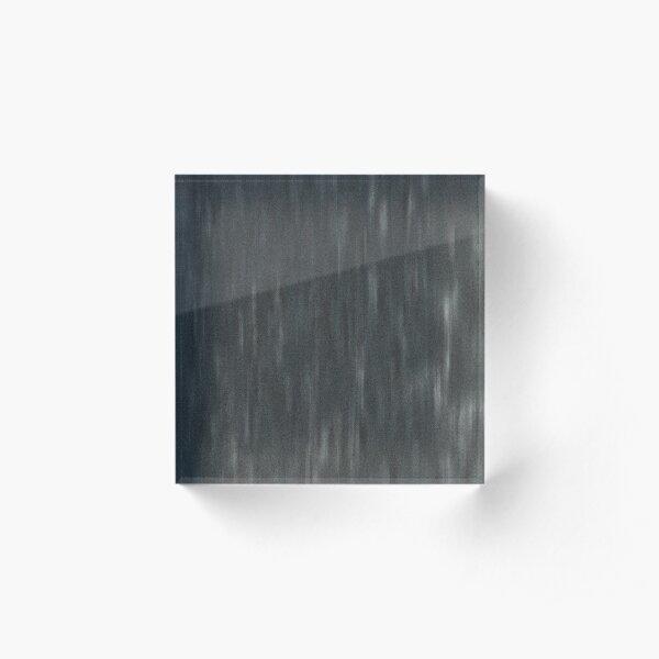 Dark Fleck Fashion Summer Design Acrylic Block