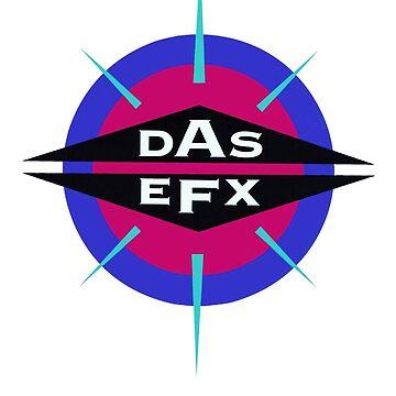DAS EFX retro 90s logo tee by philmart
