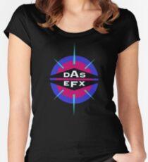 DAS EFX retro 90s logo tee Women's Fitted Scoop T-Shirt