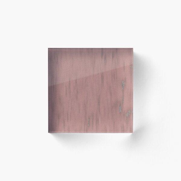 Red Pink Fleck Fashion Summer Design Acrylic Block