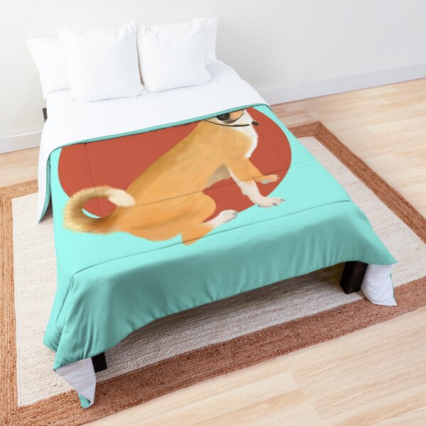 Cute Chihuahua Breed art Comforter
