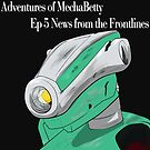 """Ep 05 """"News from the frontline"""" coverart by Titankore"""