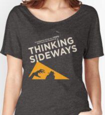 TSP logo for dark shirts Women's Relaxed Fit T-Shirt