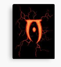 Oblivion Logo Canvas Print