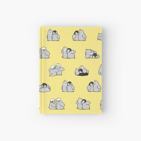 baby penguin print Hardcover Journal