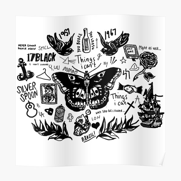 Harry - All Tattoos Poster