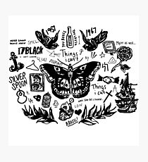 Harry - Alle Tattoos Fotodruck