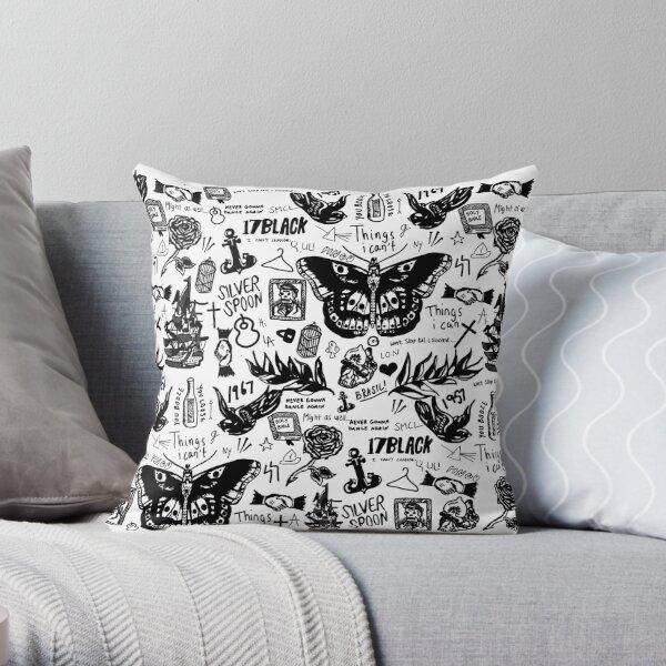 Harry - All Tattoos Throw Pillow